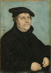 Martin Luther in his 50th year of his life - Lucas Cranach the Elder, Wittenberg, 1533 © German National Museum