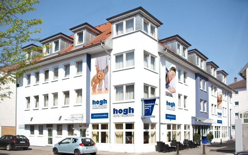 graphic:  hogh Hotel in Heilbronn