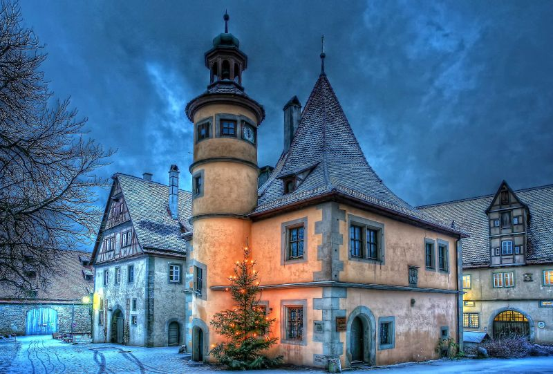 Rothenburg Maerchenzauber1 ©Rothenburg Tourismus Service Pfitzinger  Rothenburger Märchenzauber