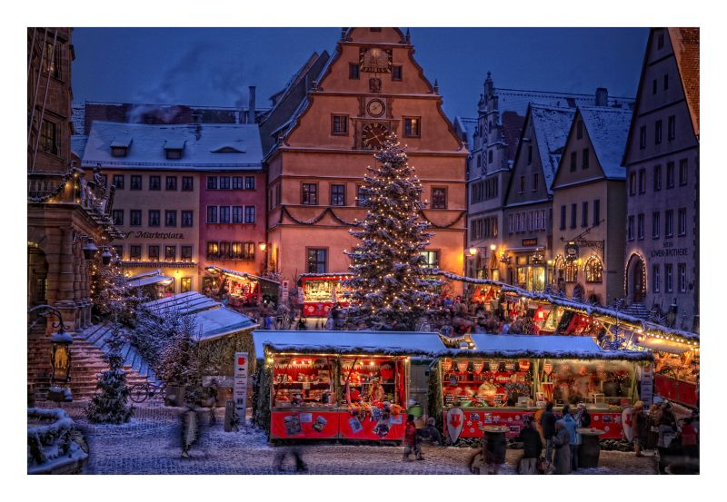 Rothenburg Reiterlesmarkt ©Rothenburg Tourismus Service Pfitzinger  Rothenburg o.d.T. - Reiterlesmarkt - © Rothenburg Tourismus Service, W. Pfitzinger