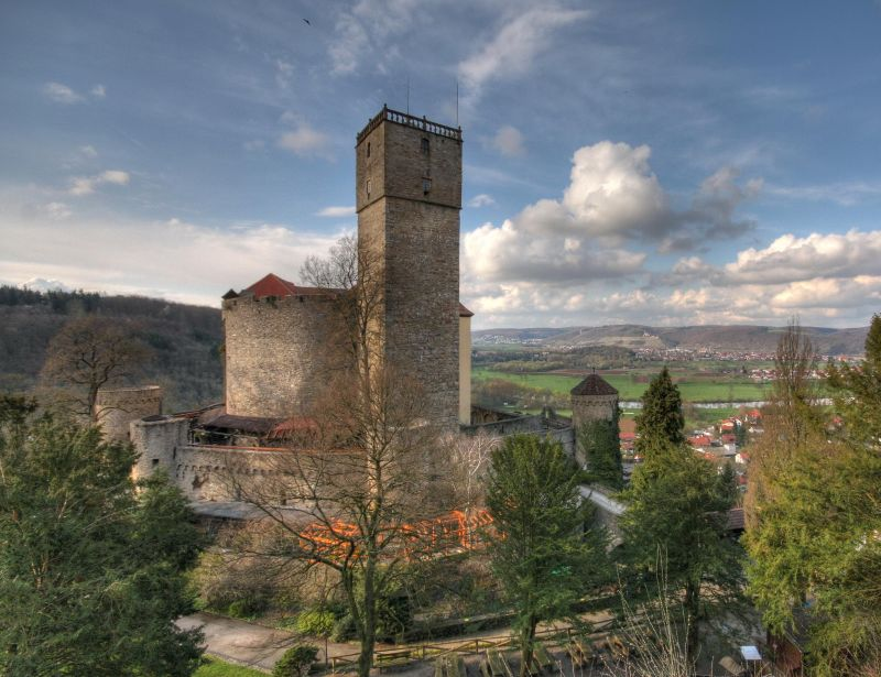 Guttenberg Castle - the