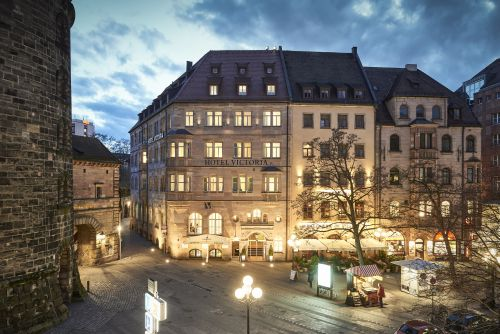 Hotel Victoria in the Old Town of Nuremberg
